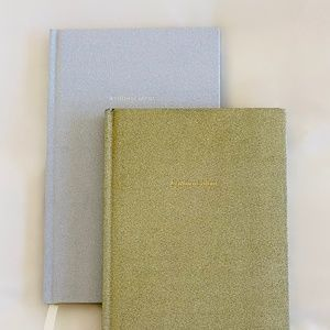 KATE SPADE - Set of Two Glitter Journals